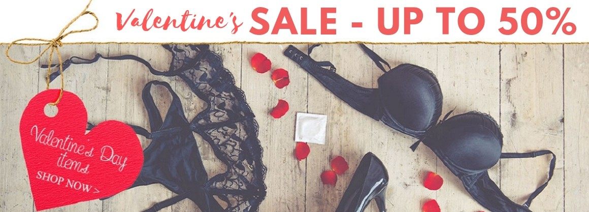 Up to 50% off for your Valentine